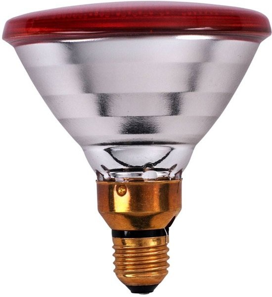 Philips - Warmtelamp E 100w Rood Energie Besparend