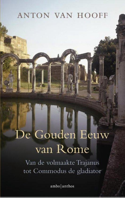 Boek cover De gouden eeuw van Rome van Anton van Hooff (Paperback)