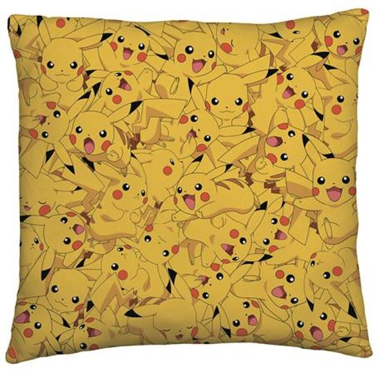 Pokémon - Sierkussen - Pikachu - 40x40 cm - Geel