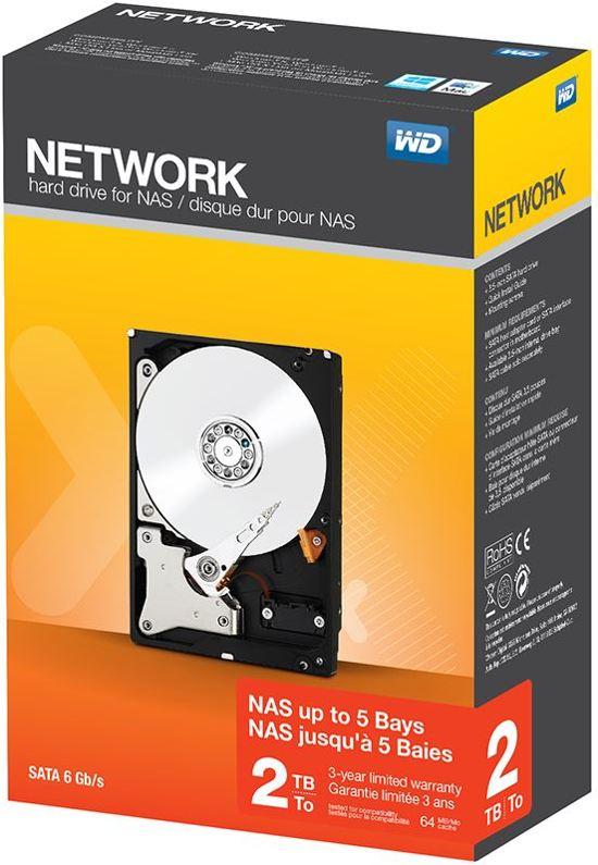 WD Network - Interne harde schijf - 2 TB