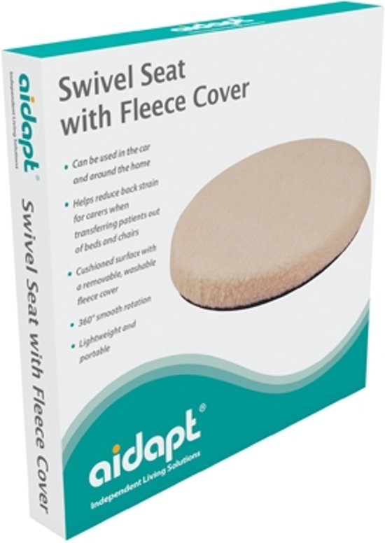 Aidapt draaikussen fleece cover