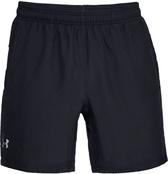 Under Armour Speed Stride 7'' Woven Short Sportbroek Heren - Zwart - Maat S