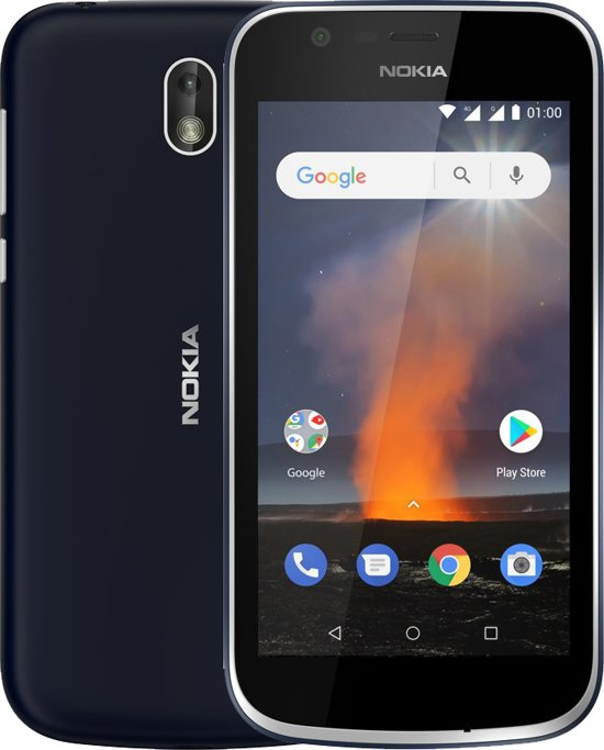 Nokia 1 - 8GB - Dual Sim - Donkerblauw