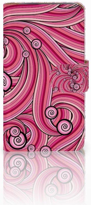 HTC Desire 310 Hoesje Swirl Pink