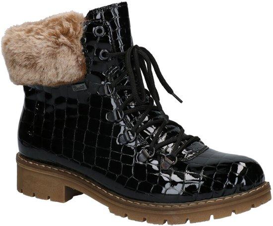 Rieker Zwarte Boots  Dames 42