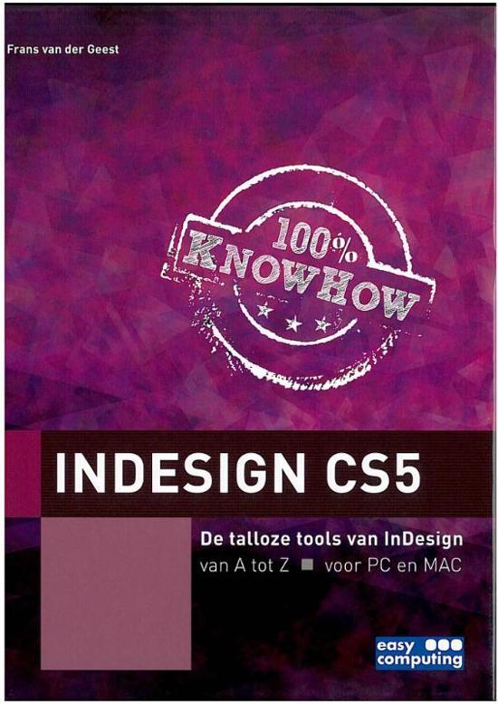 Indesign Cs5 - Frans van der Geest pdf epub