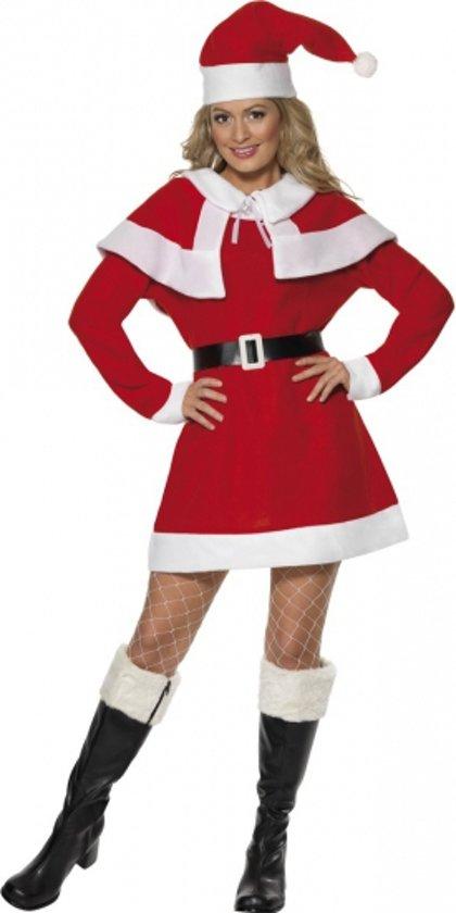 Kerst Jurk M.Kerstjurk Dames Rood 40 42 M