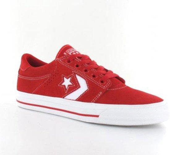 Converse Tre Star OX - Herensnseaker - Rood - Maat 35.5
