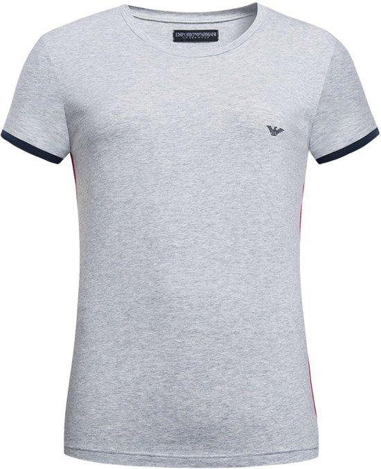 ff7c5bf626b bol.com | Emporio Armani - T-Shirt Ronde Hals Grijs - S