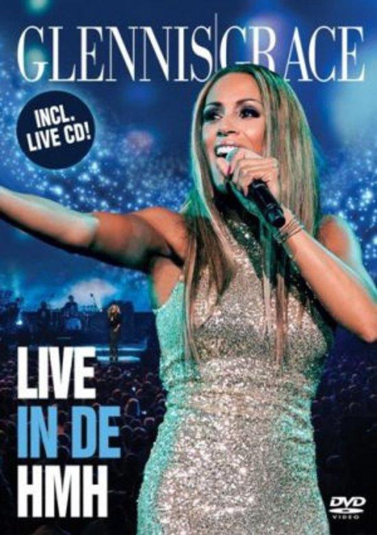 CD cover van Live In De HMH (DVD+CD) van Glennis Grace
