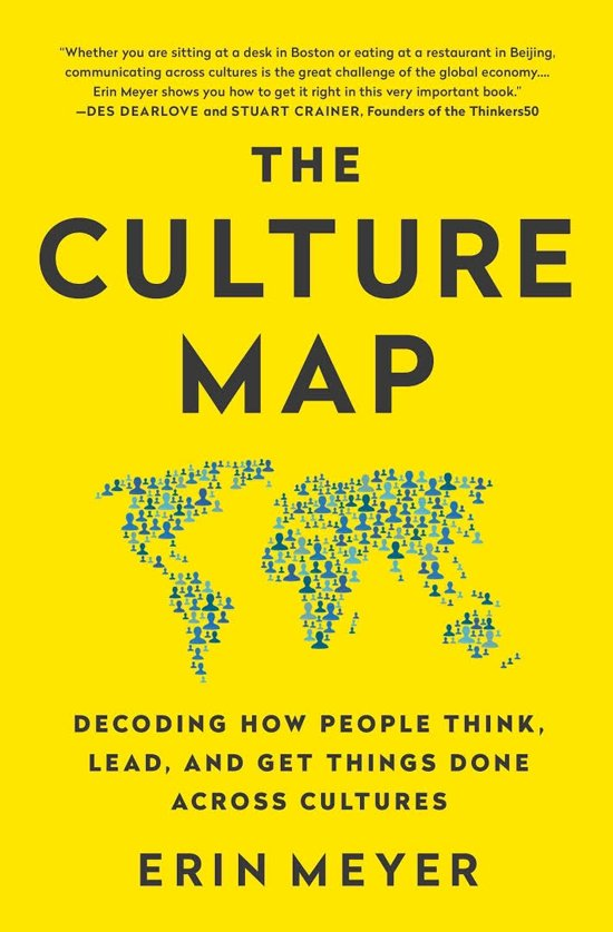 Boek cover The Culture Map van Erin Meyer (Paperback)