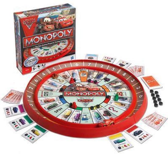 Cars monopoly - Bordspel