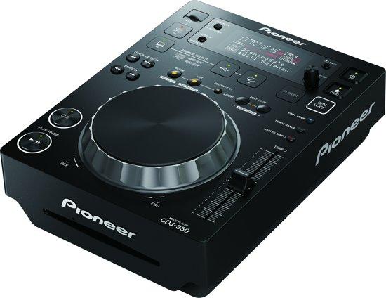 Pioneer CDJ-350 - DJ Deck - Zwart