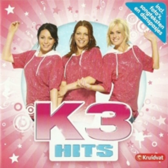 CD cover van K3 - Hits van K3