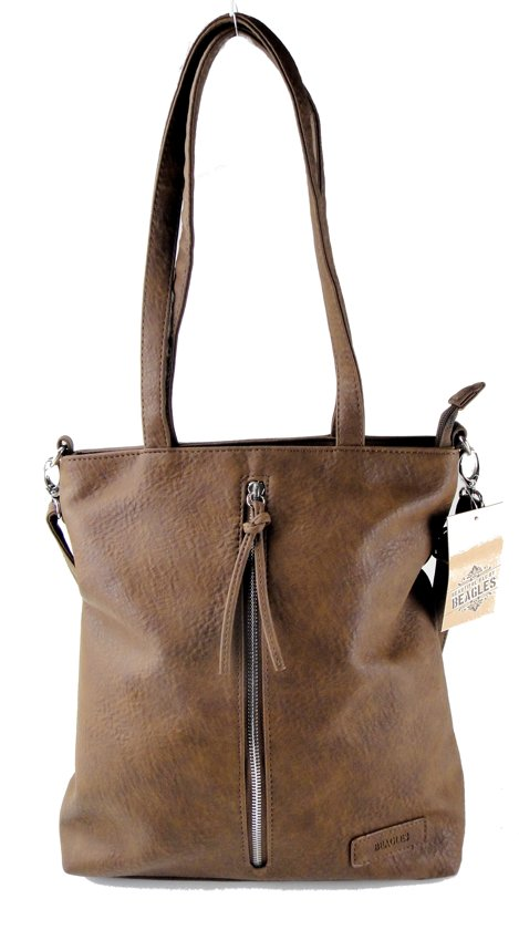 Beagles Omhang Schoudertas Cross-Body Tas Bruin Trendy Handig Formaat
