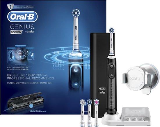 oral b genius 9000 black elektrische tandenborstel. Black Bedroom Furniture Sets. Home Design Ideas