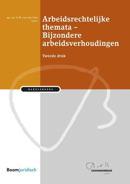 Bakelsinstituut - Bijzondere arbeidsverhoudingen - Boom Juridische uitgevers