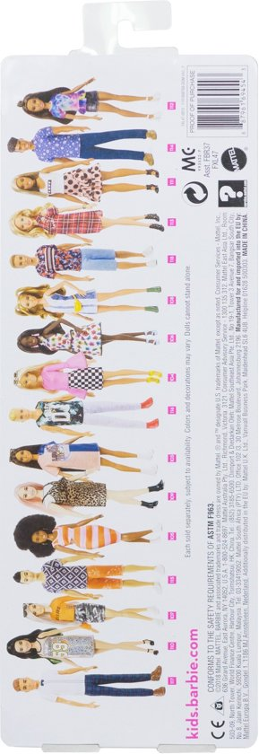 Barbie Fashionistas Pop - Malibu Camo