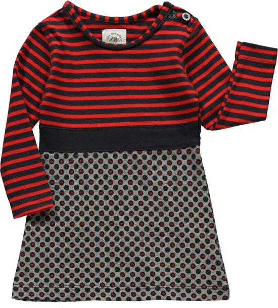 Rood Met Zwart Jurkje.Bol Com Bampidano Babykleding Rood Zwart Jurkje A Maat 56