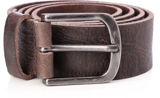 Tannery Leather Kledingriem Herenriem Leer - Bruin - 95 cm