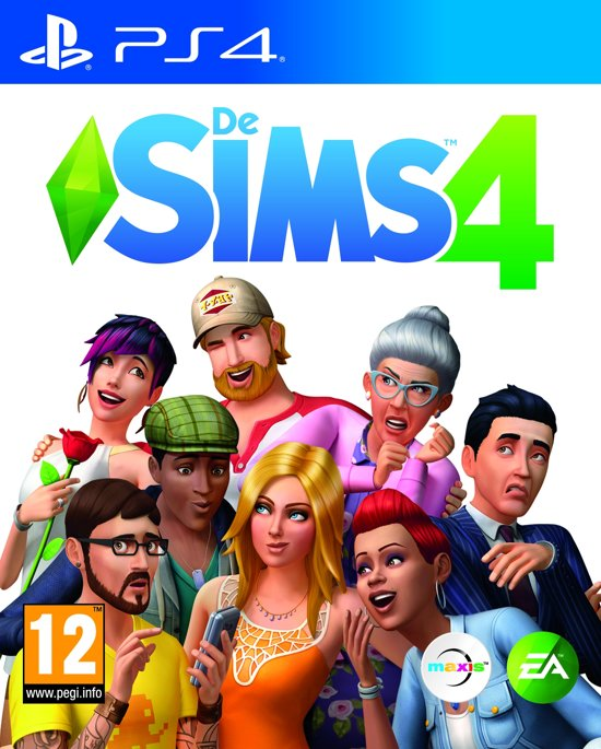 Cover van de game De Sims 4 - PS4