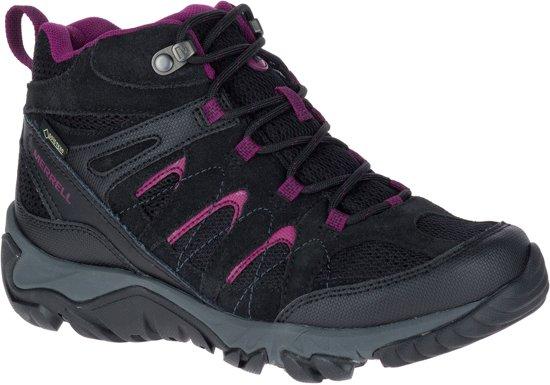 Chaussure Merrell Homme Outmost Gore-tex Pour Les Femmes - Noir hL6SD8r8B