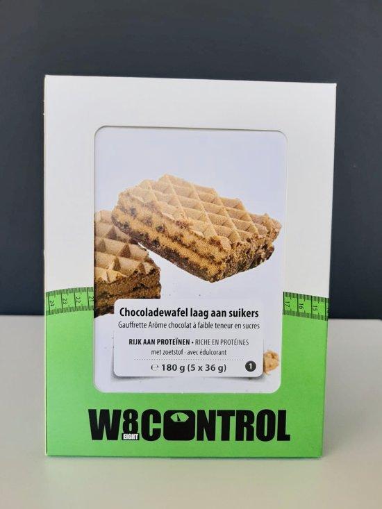 W8CONTROL High Protein Chocoladewafel Fase 1 (5 x 36g) F1 LOW SUGAR