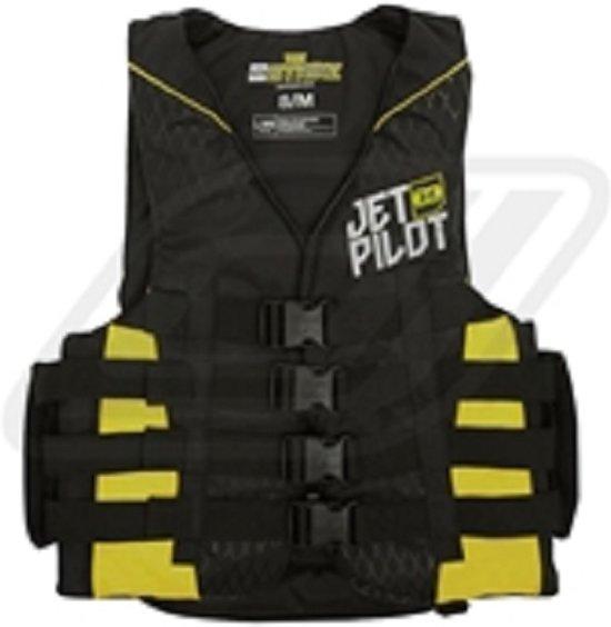JETPILOT Strike 50N Nylon Vest, JA6201E, Yellow, Maat XS