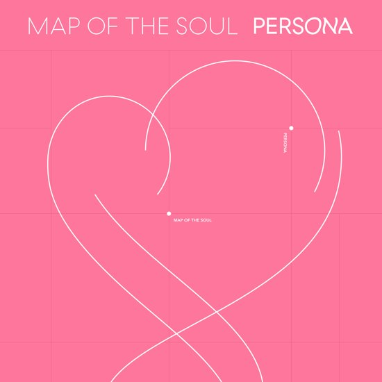 CD cover van MAP OF THE SOUL: PERSONA van BTS
