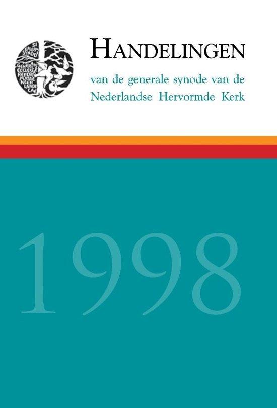 Handelingen - 1998 - J. van Heijst (red.) pdf epub