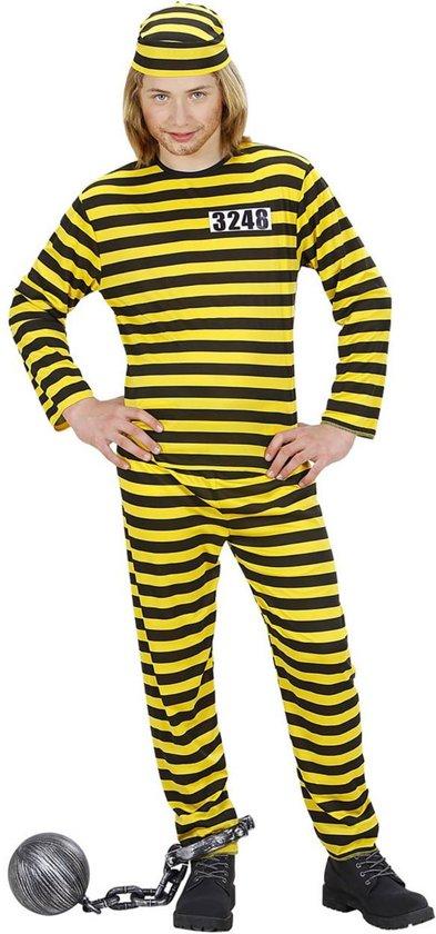 Carnaval Kostuum Kind.Boef Kostuum Boef Kind Geel Zwart Zware Jongen Maat 158 Carnaval Kostuum Verkleedkleding