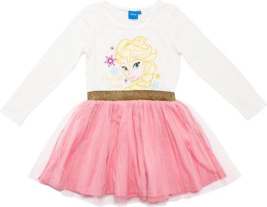 Licht Roze Jurk : Bol.com disney princess a lijn jurk wit lichtroze maat 92