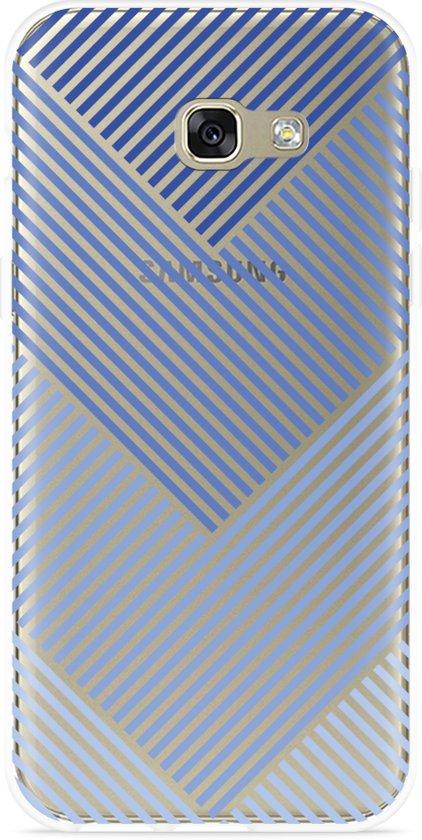 Galaxy A5 (2017) Hoesje Art Lines in Oudesluis