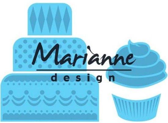 Marianne Design Creatable Mini cake & cupcake Lr0341