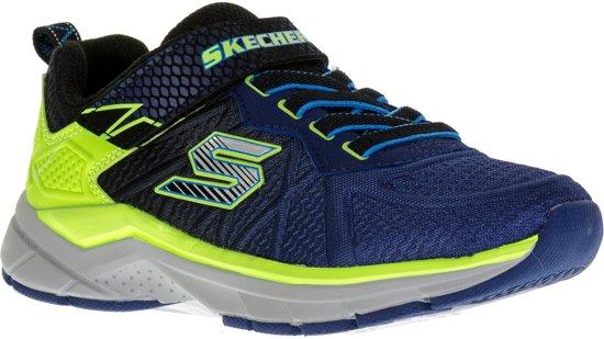 Skechers Ultrasonix Fitnessschoenen - Maat 33 - Unisex - blauw/groen/zwart