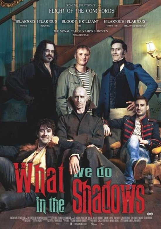 DVD cover van What We Do In The Shadows
