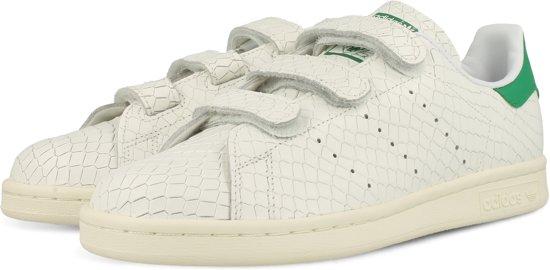 91d9da5f613 adidas STAN SMITH CF W S32171 - schoenen-sneakers - Vrouwen - wit/groen