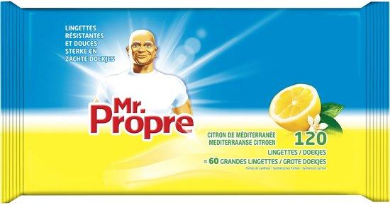 Mr Proper Wipes Citroen - 60 stuks - Reinigingsdoekjes