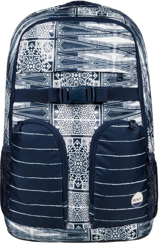 f55dfc29bbf Roxy Rugzak Take It Slow ERJBP03545 - Dress Blue Nautical - Unisex - Maat  One Size