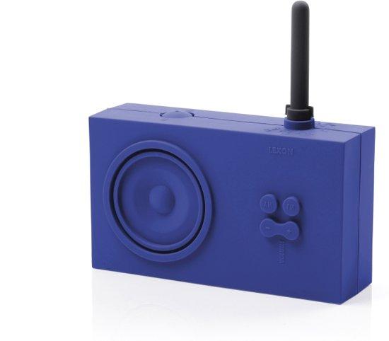 bol.com | Badkamer radio design Lexon Tykho Pruisisch Blauw