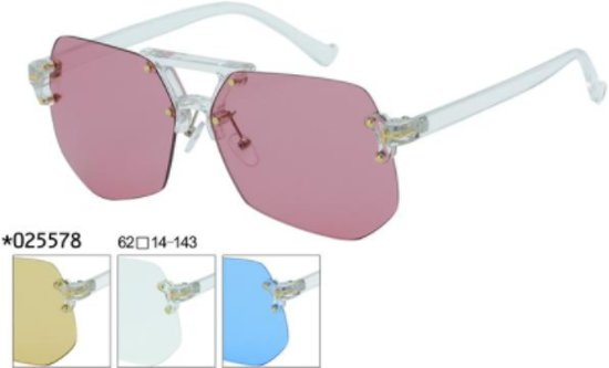 43a2d11df7606b Heren zonnebril -Glitz and Glam model met gekleurde frame-fashion look.