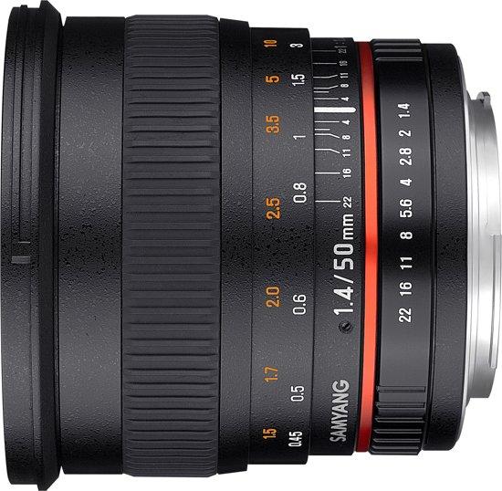 Samyang 50mm F1.4 AS UMC - Prime lens - geschikt voor Sony Systeemcamera