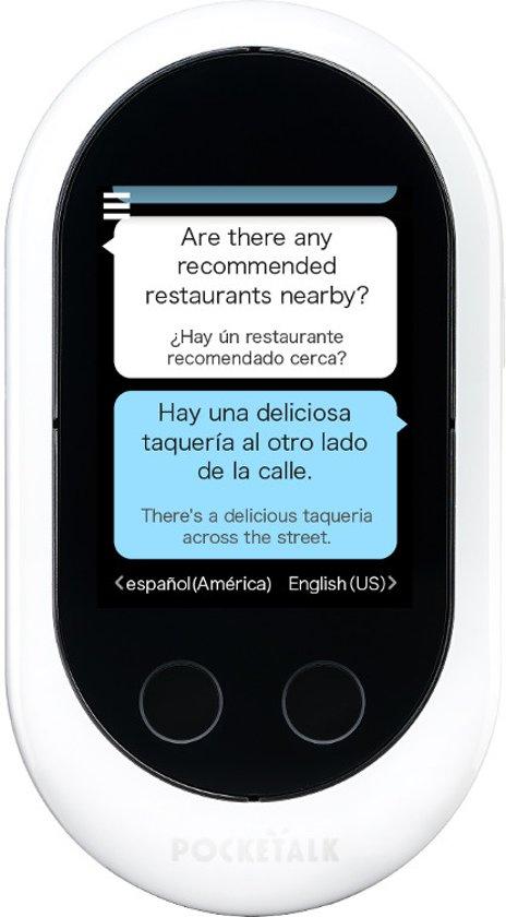 Pocketalk Vertaler Vertaalcomputer