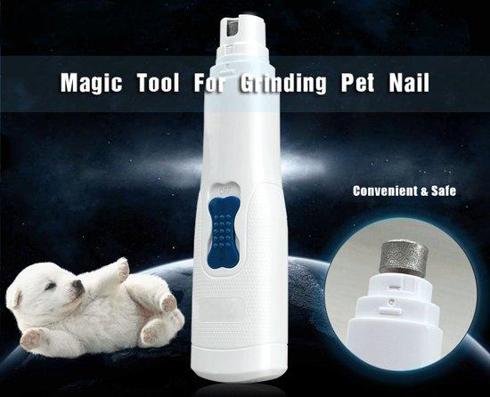 ProPet - Nagelvijl Hond - Nagelknipper Hond - Elektrische nagelvijl - Nagelschaar kat - Nagelknipper dier | Geschikt voor ieder type huisdier - Werkt zonder te veel geluid - Kalmerende Signalen
