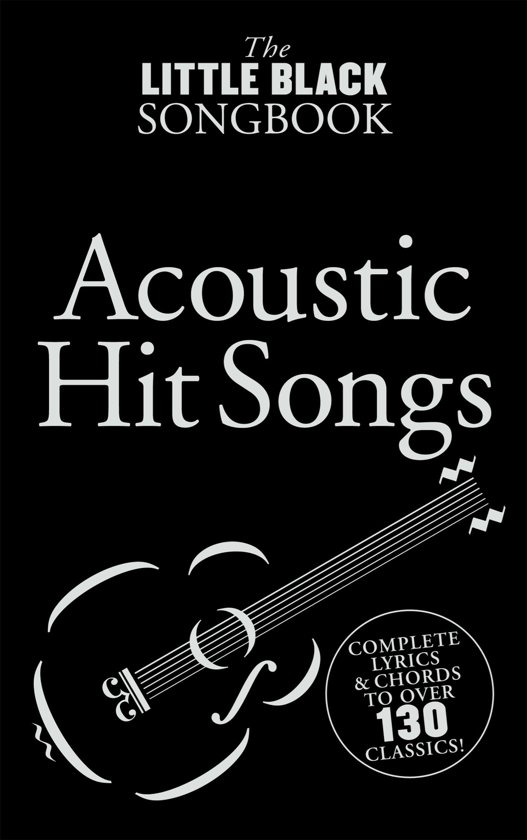Bol The Little Black Songbook Acoustic Hits Ebook Tom