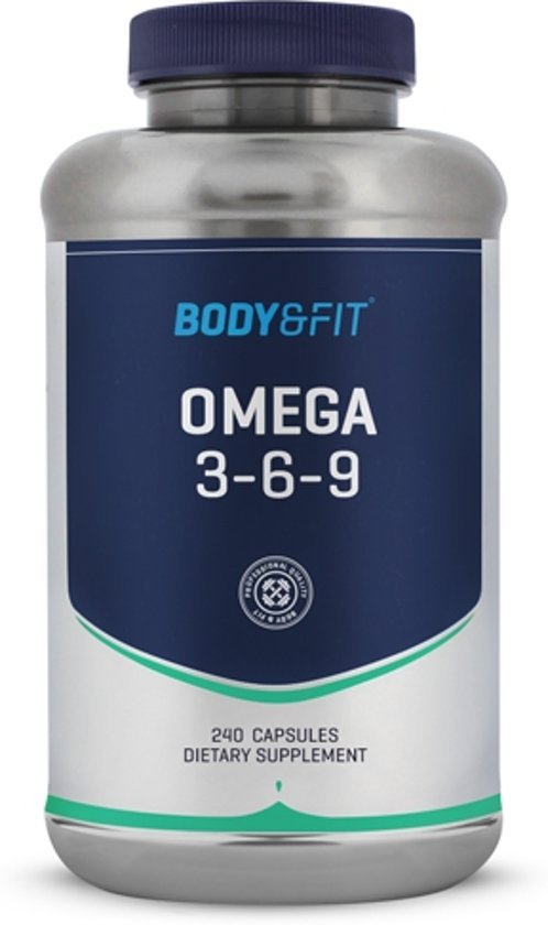 Body & Fit Omega 3-6-9 - 240 capsules