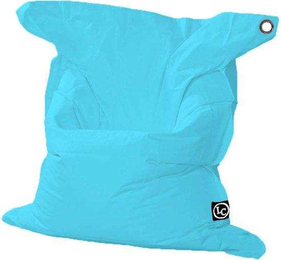 Lazy Frog Zitzak.Lc Rechthoek Zitzak St Trope Xl Outdoor Aqua Blauw Wasbaar Geschikt Voor Buiten