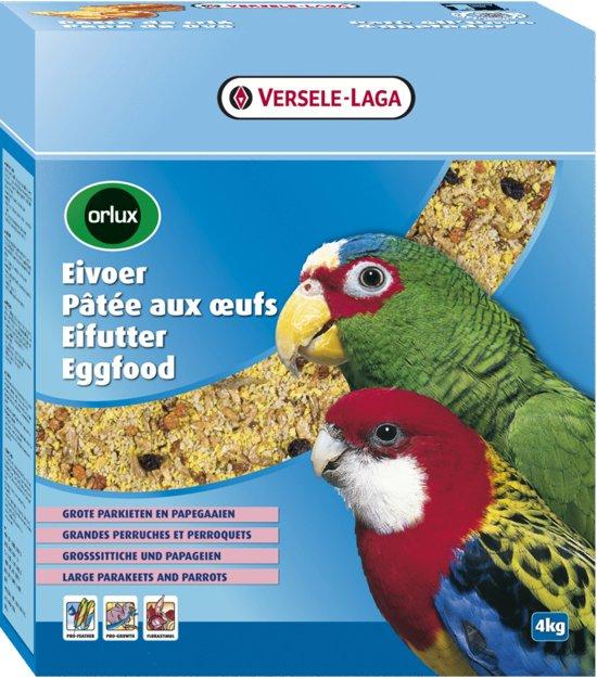Orlux Eivoer Droog Grote Parkiet/Papegaai - 4 kg