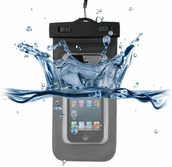 Wiko Rainbow Waterdichte Telefoon Hoes, Waterproof Case, Waterbestendig Etui, zwart , merk i12Cover in Muggenhool