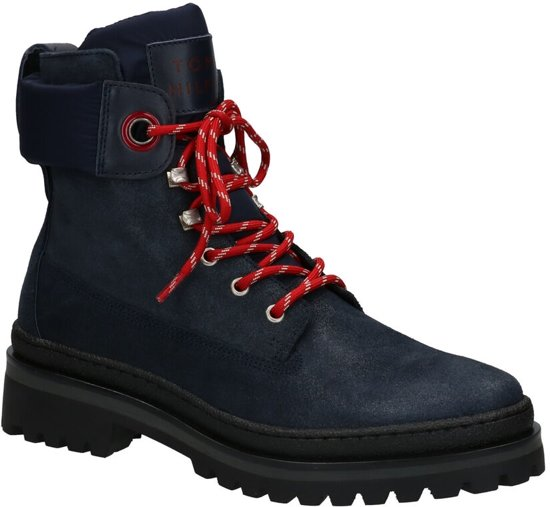 Tommy Hilfiger Sporty Outdoor Blauwe Boots  Dames 38